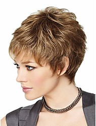 Attractive Brown Fashion Womens Short Wig