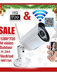 szsinocam® 720PH.264 Wireless IPCamera email alarmP2P ONVIF IR-Cut Night Vision MotionDetection Waterproof