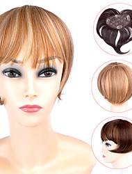 ty.hermenlisa clipe no cabelo bang calor sintético franja de cabelo fibra resistente extensões postiços, 1 pc, 39g