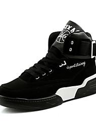 Unisexe-Décontracté / Sport-NoirConfort-Chaussures d'Athlétisme-Daim