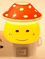 en forme de visage créatif design sourire en céramique lampe nuit lampe de chevet lampe parfum