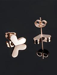 Ms Stainless Steel Not Faded Heart-shaped Earrings