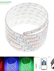5м 75w 300x5050 SMD LED RGB DC12V IP68 водонепроницаемый полосы света + 10KEY RGB дистанционного управления + 12V 2A питания 100-240