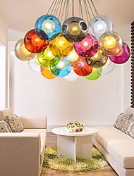 Moderno / Contemporáneo / Tradicional/Clásico / Rústico/Campestre / Cosecha / Retro / Farol LED Vidrio Lámparas ColgantesSala de estar /