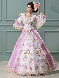 Steampunk®Top Sale Pink Printing Princess Dress Victorian Party Dress /Cosplay Prom Dresses