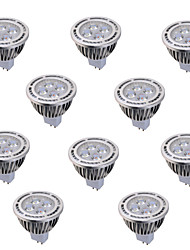 ywxlight® 10pcs gu5.3 (MR16) 6w 4 * cob 540LM chaud blanc froid ac 85-265 ac / dc 12v /