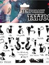 Airbrush Tattoos Non Toxic Glitter Waterproof Multicolored Glitter 1 Package 17*16CM (Color Randomly)