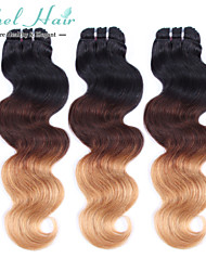 Ombre Brasilianisches Haar Große Wellen 18 Monate 3 Stück Haar webt