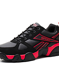 Men's Shoes Outdoor Fashion Leisure Sports Basketball Running Shoes Black yellow/ Black red/Sapphire blue