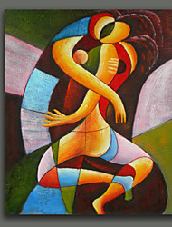 Abstract Style Oil Painting Hug Framed Handmade Oil Painting Free Shiping