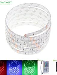 5м 75w 300x5050 SMD LED RGB DC12V IP68 водонепроницаемый полосы света + 44key RGB дистанционного управления + 12V 2A питания 100-240