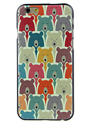A lot of bears High Quality and Good Price Pattern  Hard Case for iPhone 6/6S