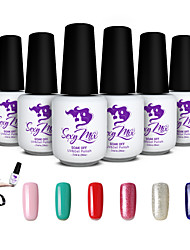 Sexy Mix Soak Off LED UV Nail Gel Polish Color Gel Nail Art Manicure Kit