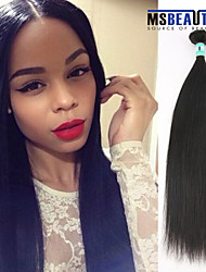 "1 Pc /Lot 12""-30""5A Malaysian Virgin Hair Straight Human Hair Wefts 100% Unprocessed Malaysian Remy Hair Weaves"