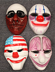 Payday2 Cospaly Mask 4PCS Set