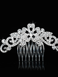 Women's Alloy Headpiece-Wedding Special Occasion Hair Combs 1 Piece
