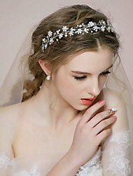 Handmade Rhinestone Bridal Headpiece Crystal Bridal Hair Accessories Wedding/Special Occasion Headbands