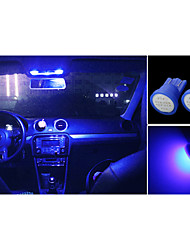 haute puissance 10 x torchis bleue t10 194 168 12V LED ampoules instrument de bord
