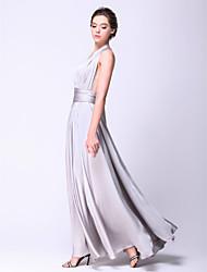 Платье-трансформер для вечеринок, материал шифон