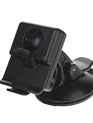 Car Windscreen Mount Holder w/ Suction Cup for Garmin NUVI 300 / 310 Series GPS Navigator - Black