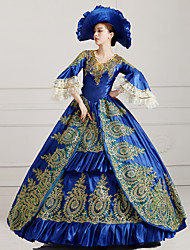 Steampunk®Top Sale Royal Blue Victorian Party Ball Gown Wholesalelolita Rococo Princess Prom Dresses