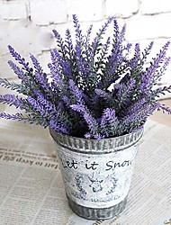 "14.2""H Mini Lavender Artificial FLower for Garden Decoration 2pcs/set"