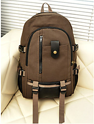 Unisex Canvas Backpack Green / Brown / Black / Khaki