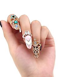 - Finger - Nail Schmuck - Metall - 1pcs Stück - 2 cm