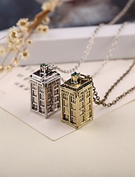 Movie Acc Doctor Who Pendant Necklace