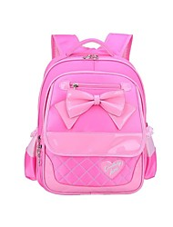 Fashion Bow Nylon Fabric Waterproof Children Girls School Backpack For Primary School