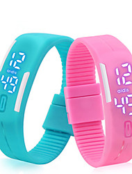 Bracelet Watch Fashion Students Man's Fashion Sports Lovers Jelly Digital Watches Cool Watch Unique Watch