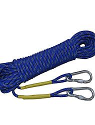 corda de segurança sobrevivência ao ar livre 9 mm extremos da corda de salvamento corda de escalada corda de resgate (10-50m)