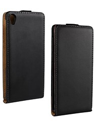 For Sony Case / Xperia Z3 Flip Case Full Body Case Solid Color Hard PU Leather for Sony Sony Xperia Z3