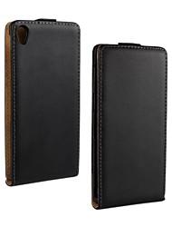 Pour Coque Sony / Xperia Z3 Clapet Coque Coque Intégrale Coque Couleur Pleine Dur Cuir PU pour Sony Sony Xperia Z3
