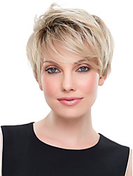 Hot Selling Lady Wigs Blonde Color Synthetic Hair Wigs