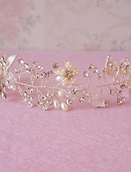 Handmade Rhinestone Bridal Headpiece Crystal Bridal Hair Accessories Wedding/Special Occasion Headbands