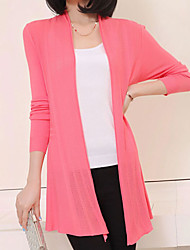 Women's Casual Cowl Long Sleeve All Match Knit Cardigan More Colors