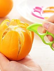 ZIQIAO Dexterous Orange Lemon Fruit Peelers(Color Random)