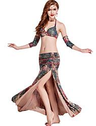 Accesorios ( Multicolor / Estampados de Leopardo , De seda / Modal , Danza del Vientre ) - Danza del Vientre - para Mujer