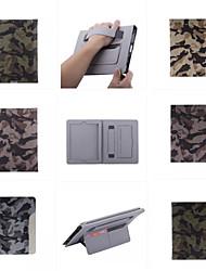 étui en cuir ultra-mince de style camouflage mode cool avec la carte de la ceinture cas de support pour Mini iPad 3/2/1 (de couleurs