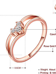 Wholesale Kate Princess Gift Engagement Charm Jewelry Christmas Gift Women Gold Plated Red CZ Lady Ring