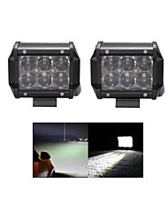 2x 30W LED Work Light Bar Offroad 12V/24V ATV Spot Offroad for Truck 4x4 UTV