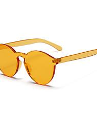 Sunglasses Unisex's Sports / Modern Round Yellow / Brown / Pink / Gray / Transparent Sunglasses / Sports / Driving Full-Rim