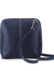 Paste® Vintage Simple Design Real Leather Woman Shoulder Bag