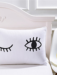 Body Pillowcase Blinking Eyes Plain Printed Valentine's Day Gift Pillow Case Cover Home 1 Piece 50cmx75cm