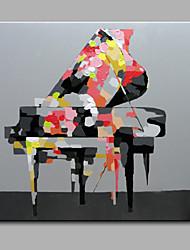 Peint à la main Nature morte Carré,Moderne Un Panneau Toile Peinture à l'huile Hang-peint For Décoration d'intérieur