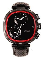 EZON Women and Men Sport Multifunctional Chronograph Compass Barometer Thermometer Waterproof Quartz Watch H601