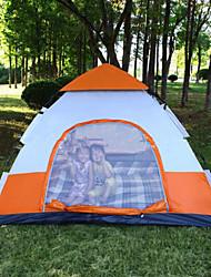 Other 3-4 Personen Zelt Automatisches Zelt Einzimmer Camping Zelt >3000mm Nylon Oxford GlasfaserFeuchtigkeitsundurchlässig Wasserdicht