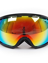 New Style Wind Dust Protection Anti UV Colorful Double Lens Riding Goggles Skiing Goggles
