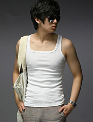 Men's Sleeveless Vest , Cotton Casual Pure